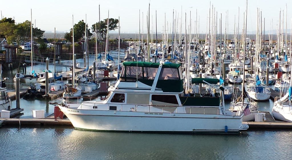 Harbormaster's Boat at the San Francisco Marina