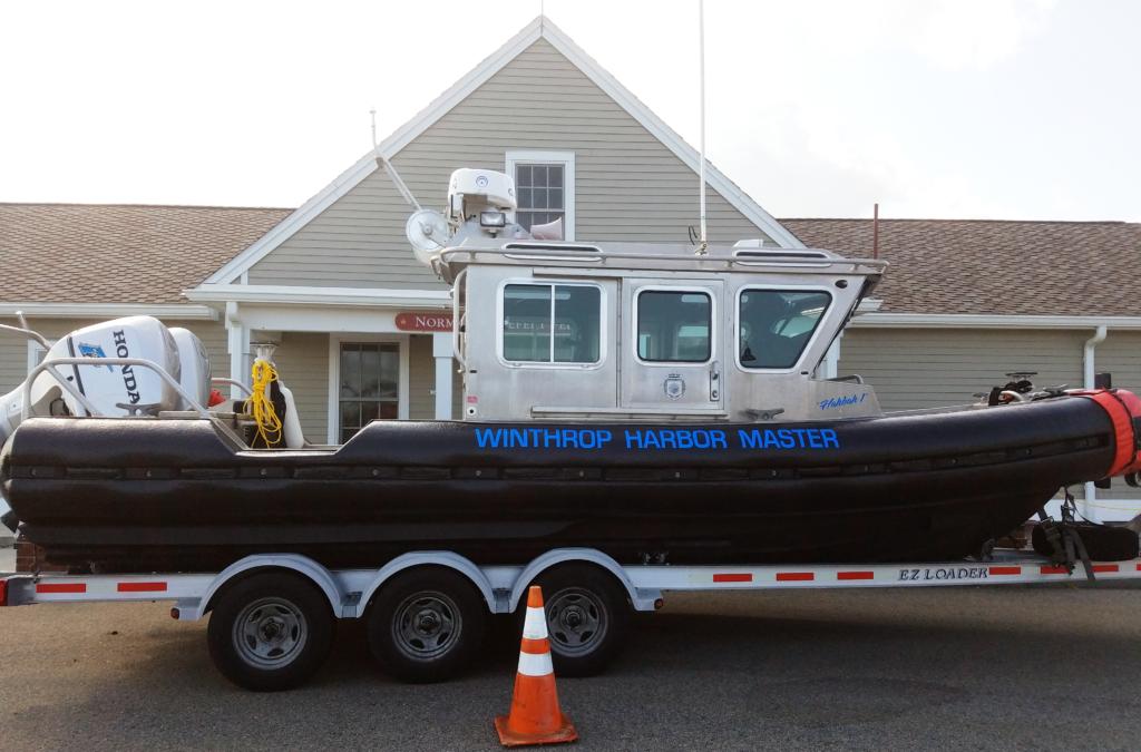 Harbormaster's Boat - Winthrop, MA