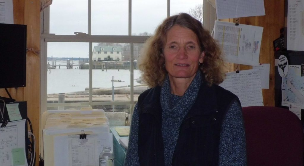 Katherine Pickering, Harbormaster in Belfast, ME