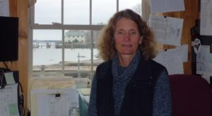 Katherine Pickering, Harbormaster in Belfast, ME