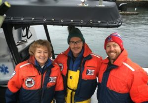 Scott Story and Rosemary Lesch - Harbormasters in Rockport, MA