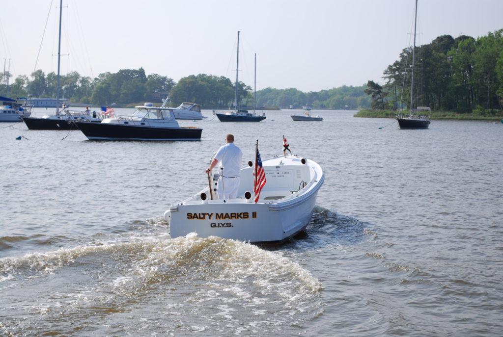 Capt. Denver Sanner, Harbormaster in Gibson Island, MD