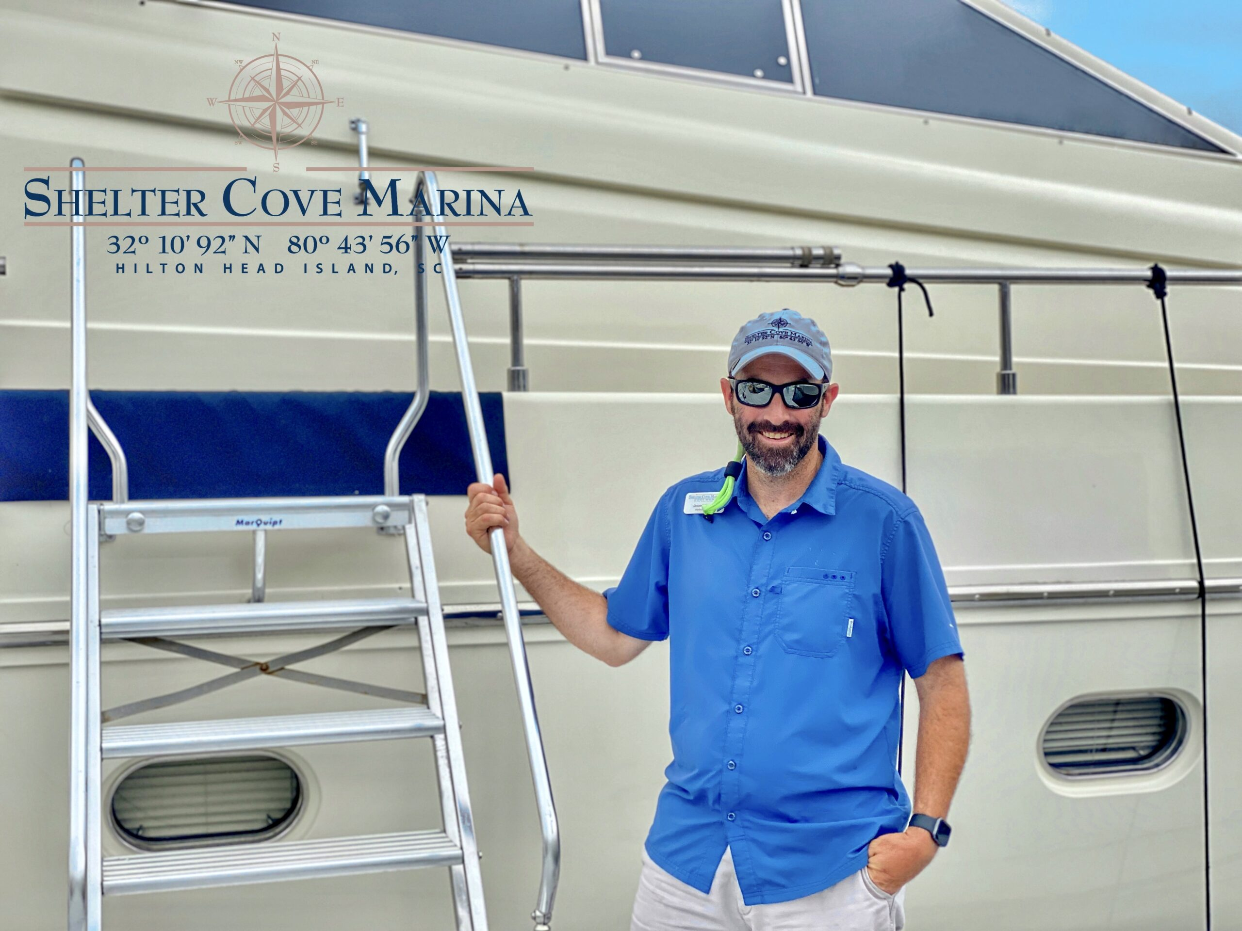 Jason Wheeler, Harbormaster --Shelter Cove Mariana, Hilton Head, SC
